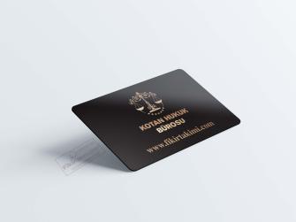 özel desenli avukat kartvizit