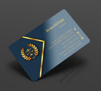 Gold Avukat Kartvizit