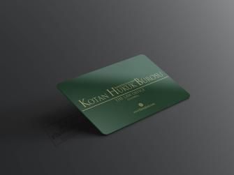 Yeşil Avukat Kartvizit Modelleri