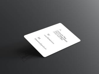 Kaliteli sıradışı kartvizitler