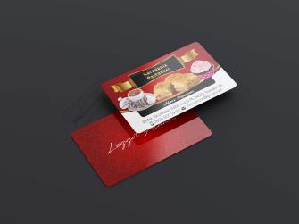 Cafe Pastane Kartvizitleri