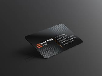 Çift taraflı kartvizit