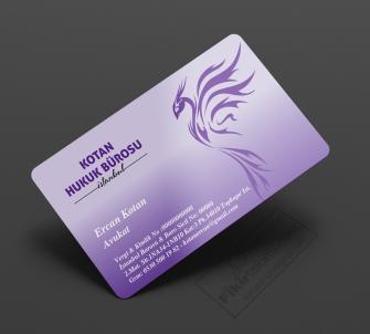 Avukatlara özel kartvizit tasarımları