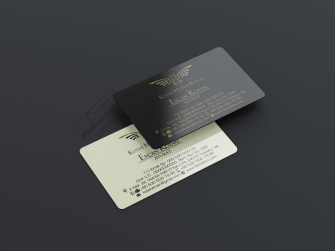 Siyah zeminli avukat kartvizitleri