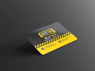 Taksi, Taksici Kartvizit, Taksi Durakları için kartvizit