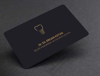 Sıradışı Diş Hekimleri  için kartvizit modelleri
