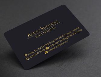 Mali Müşavir kartvizit