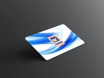 Mavi desenli ismmmo kartvizit tasarımları