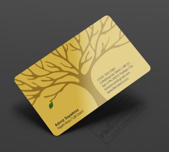 Yaşam ve Eğitim Koçu örnek kartvizit çalışması
