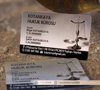 özel tasarım avukat kartvizitleri >>500 Adet Şeffaf Kartvizit, Kabartma Laklı Oval Kesimli