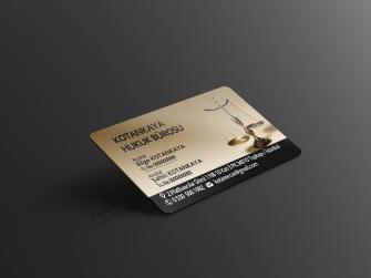 özel tasarım avukat kartvizitleri >>500 Adet Özel Üretim 400gr. Çift taraflı Kabartma Laklı, Oval Kesimli Lüks Baskılar