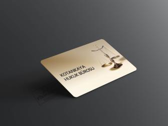 özel tasarım avukat kartvizitleri >>1000 Adet Standart Kartvizit