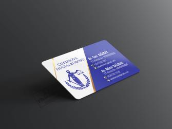 Çift taraflı kartvizit >>1000 Adet Standart Kartvizit >>1000 Adet Standart Kartvizit