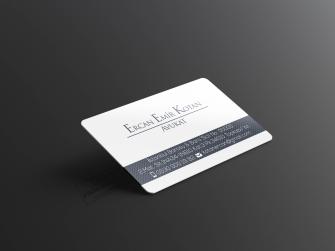 Avukat Arabulucu Kartvizitleri >>1000 Adet Standart Kartvizit