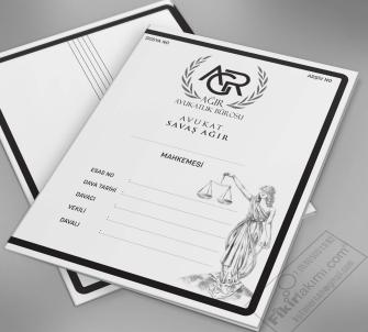 Hukuk Bürolarına özel Büro Dosyası, Mahkeme Dosyası, İcra Dosya