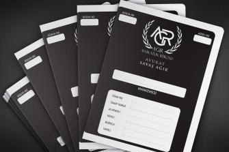 Siyah zeminli hukuk bürolarına özel tasarımlar