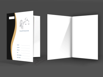 özel tasarımlı büro dosya tasarımları