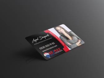 Emlakçı kartvizit