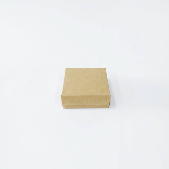 8x8x3 Kraft Kapaklı Kutu