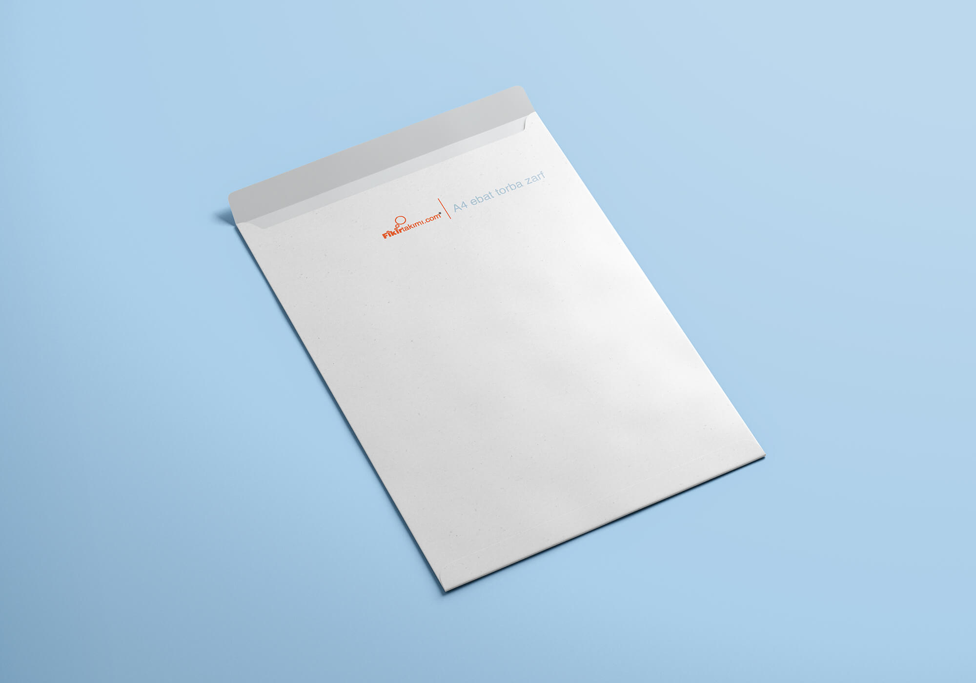 Torba Zarf, A4 Kurumsal Büyük Zarflar (500 adet)