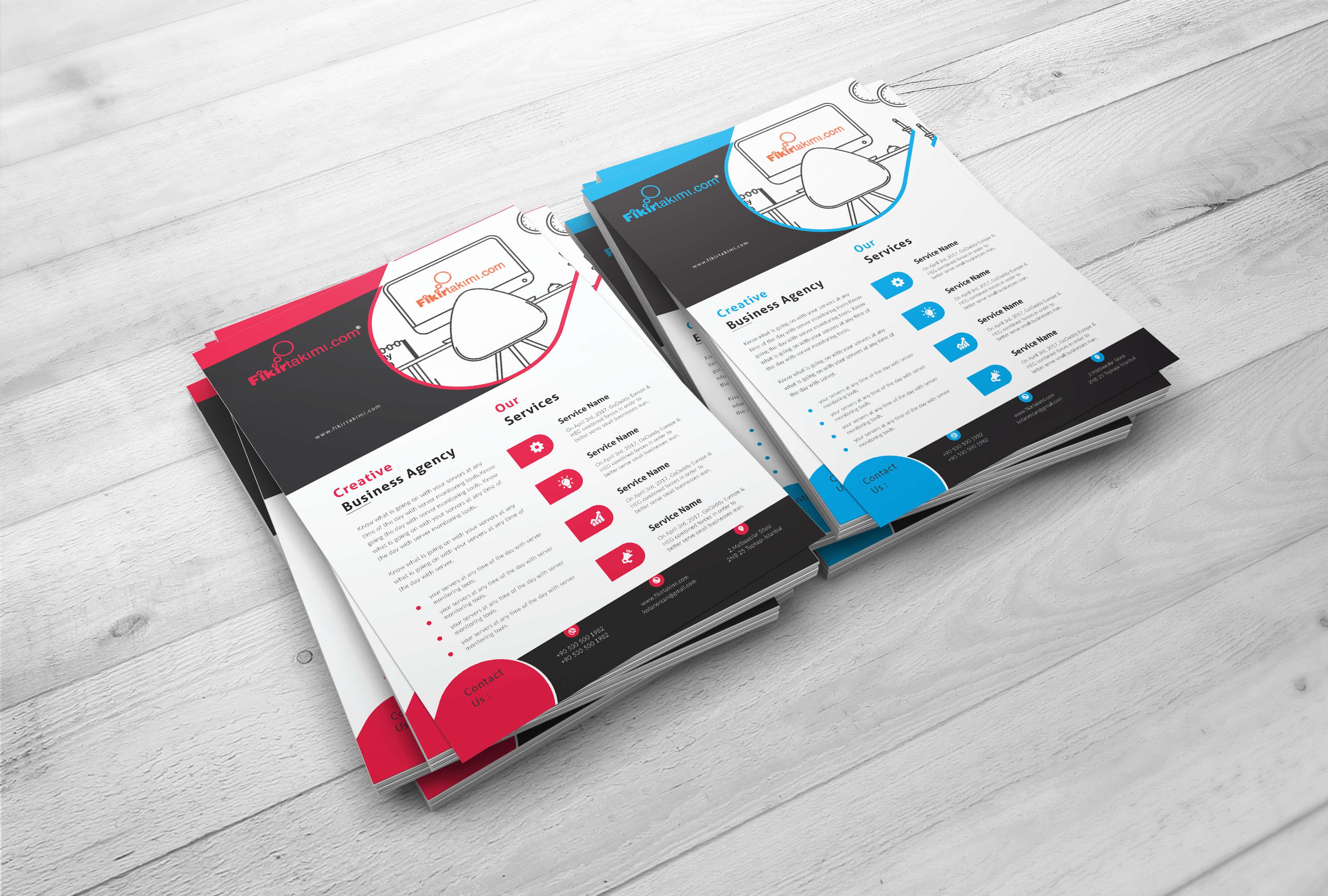 A5 ve A4 El ilan baskısı