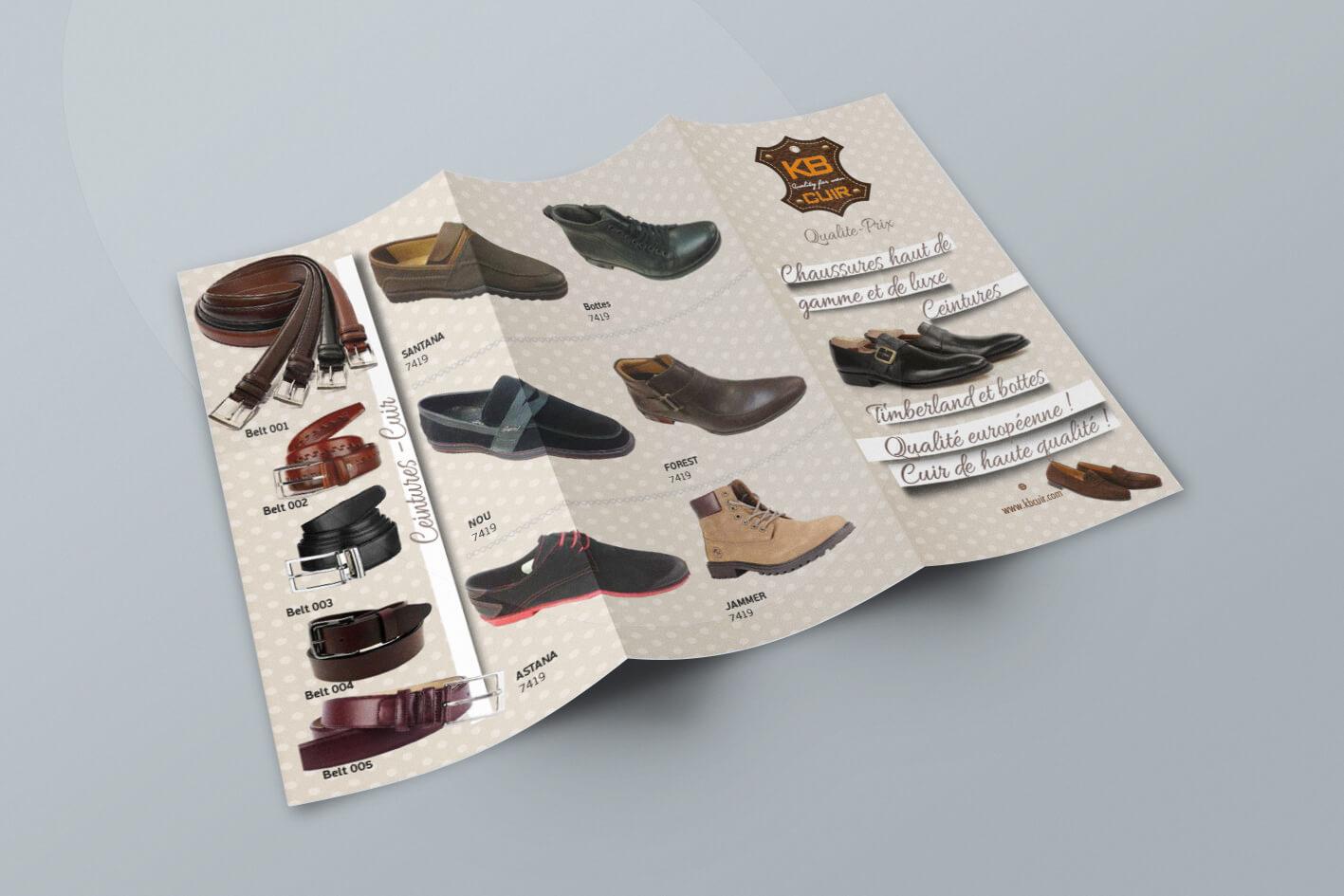 Ayakkabıcı Broşür (500 adet)