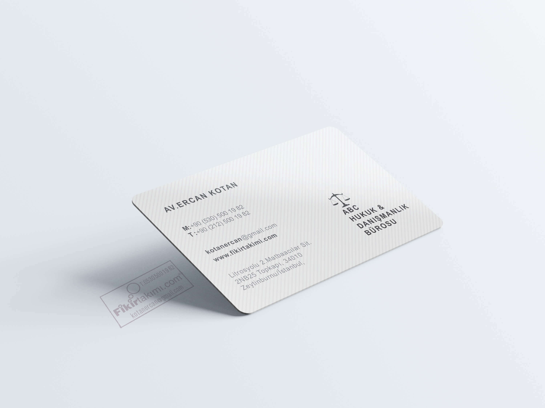 En güzel avukat kartvizitleri
