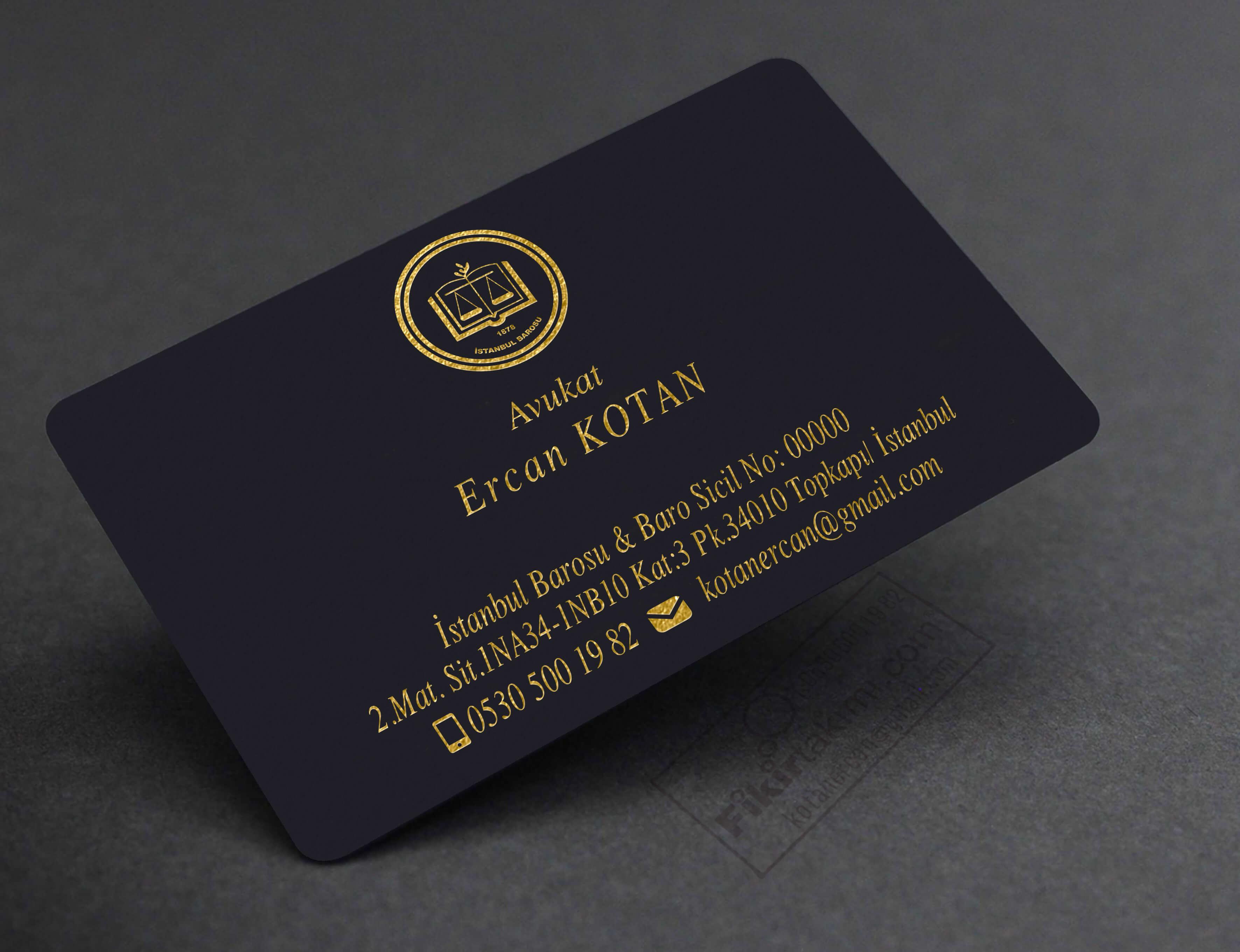Özel dokulu kartvizit baskıları
