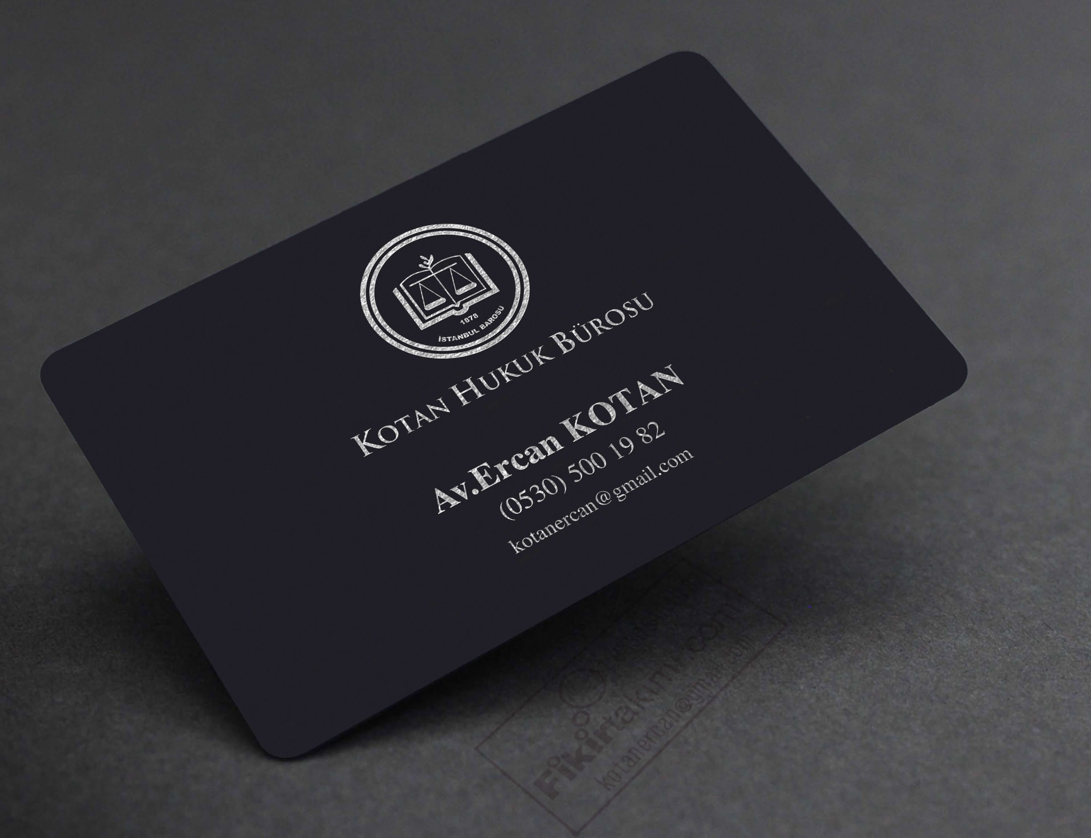 Avukat Altın, Gümüş Yaldız, Premium kartvizitler