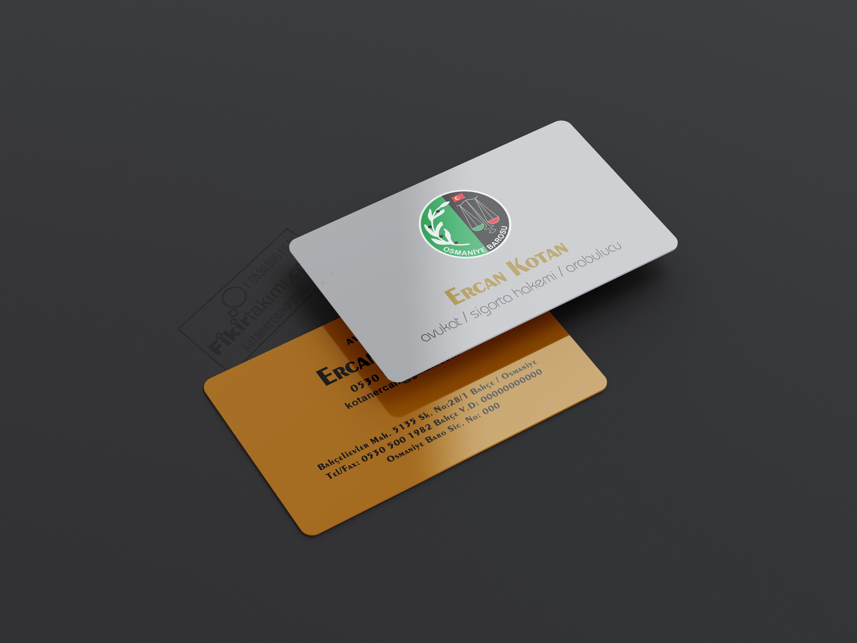 kabartma laklı kartvizitler