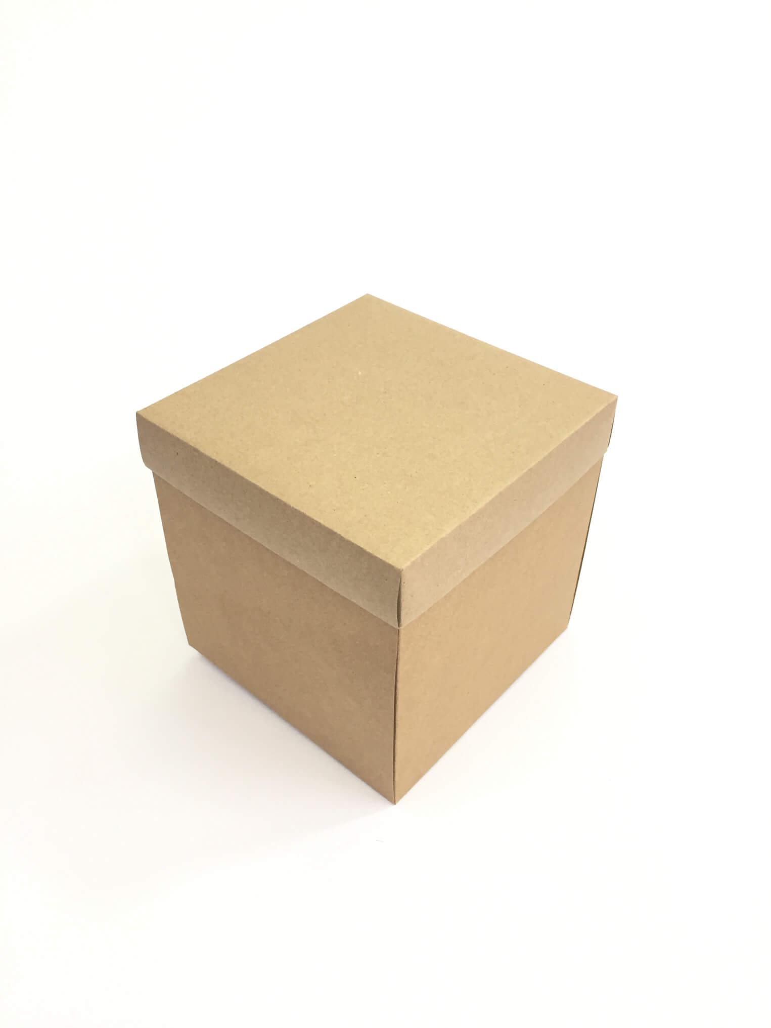 15x15x15 Hediyelik Kraft, Karton Kutular