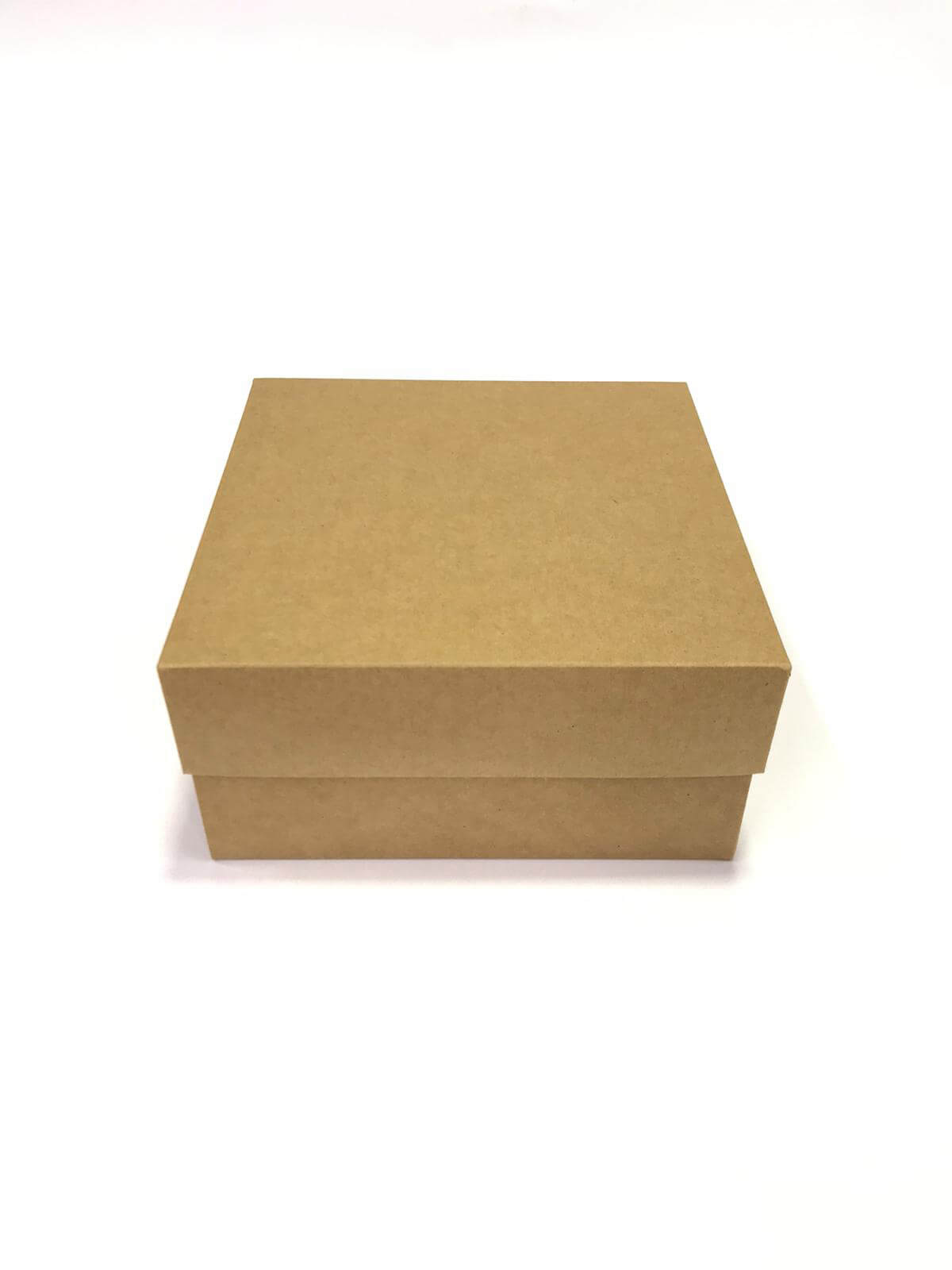 25x25x10 Kraft kutu kapak - 10 Adet fiyatıdır