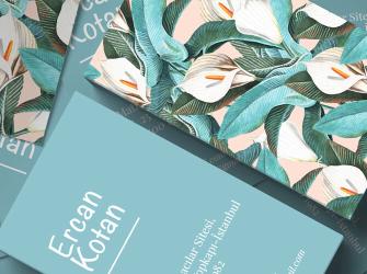 Çiçekçi kartvizit (500 adet)