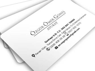 Hukuk Bürosu Kartvizitleri (500 adet)