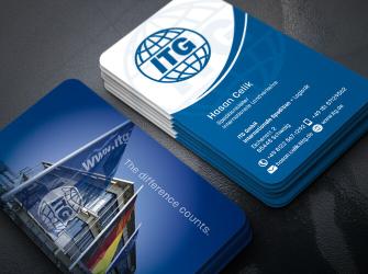 Lojistik firma, Uluslararası Nakliyeci Kartvizitleri, Kurumsal Kartvizit (500 adet)