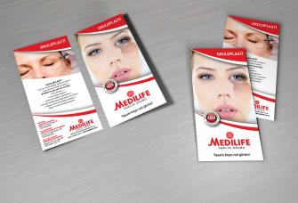 Broşür & Flyer Çalışmaları (500 adet)