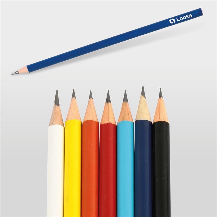 Yuvarlak Renkli Kurşun Kalem