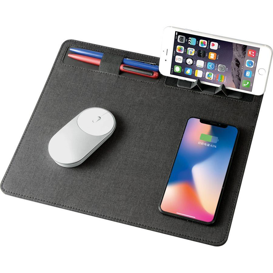 Wireless Şarjlı Mouse Pad