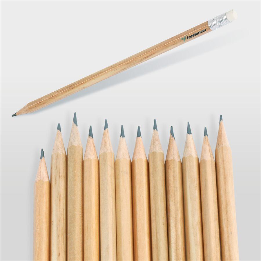 Köşeli Silgili Kurşun Kalem