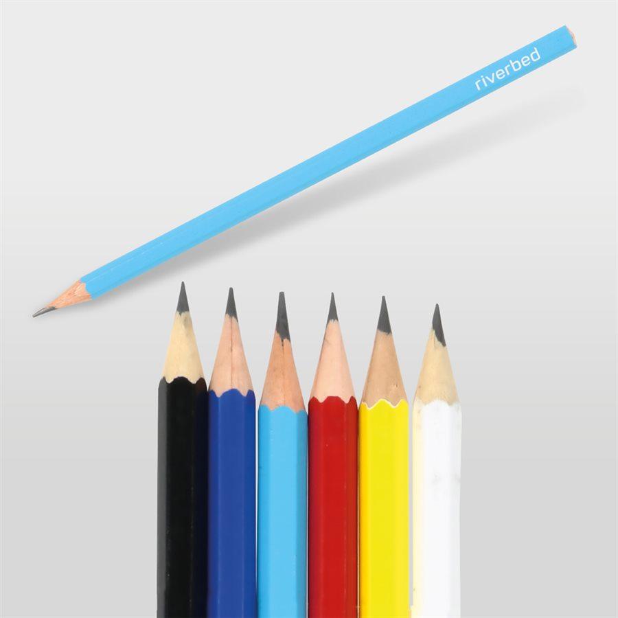 Köşeli Renkli Kurşun Kalem