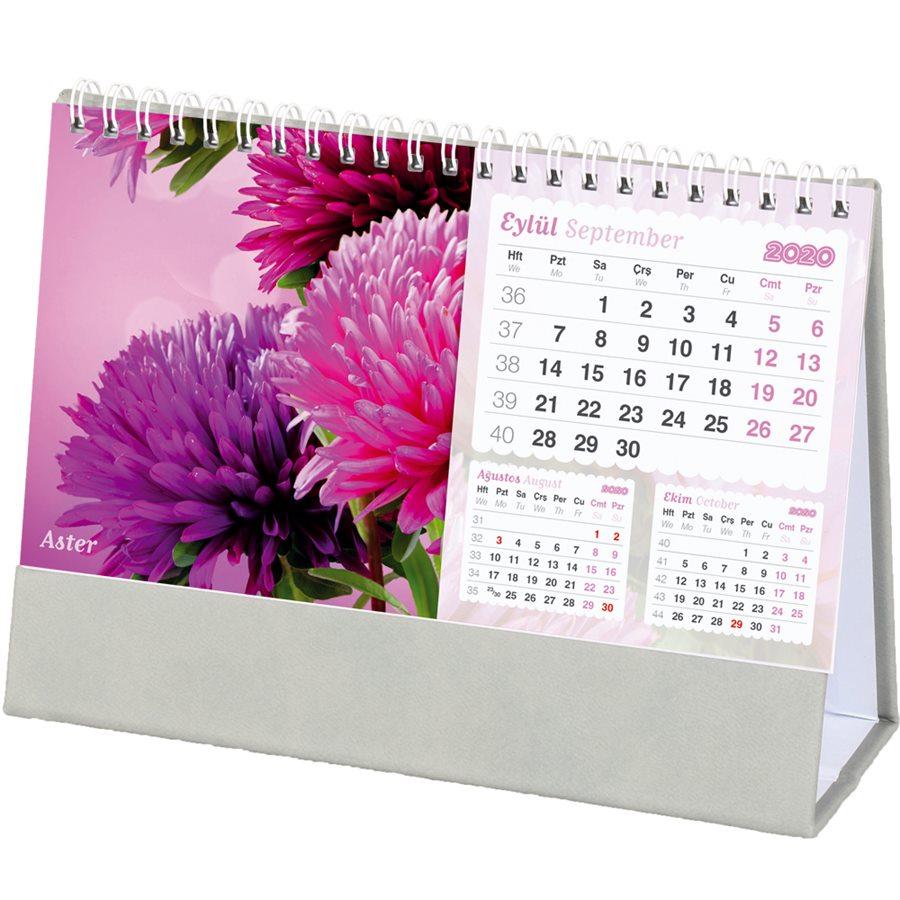 Çiçekler Masa Takvimi