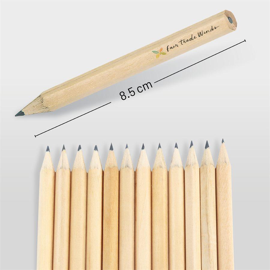 Köşeli Kısa Kurşun Kalem