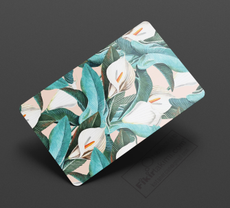 Çiçekçi kartvizit