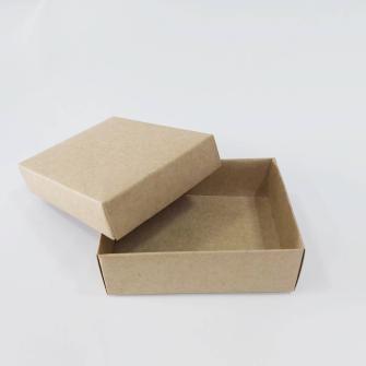 8x6x3 Kraft Kapaklı Takı Kutusu