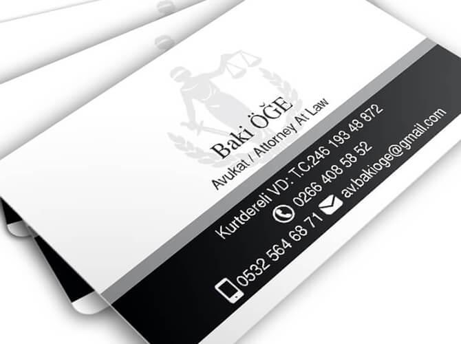 Avukat ve Hukuk Bürolarına özel avukat kartvizit tasarımları, Büro Dosyaları, Antetli (500 adet)