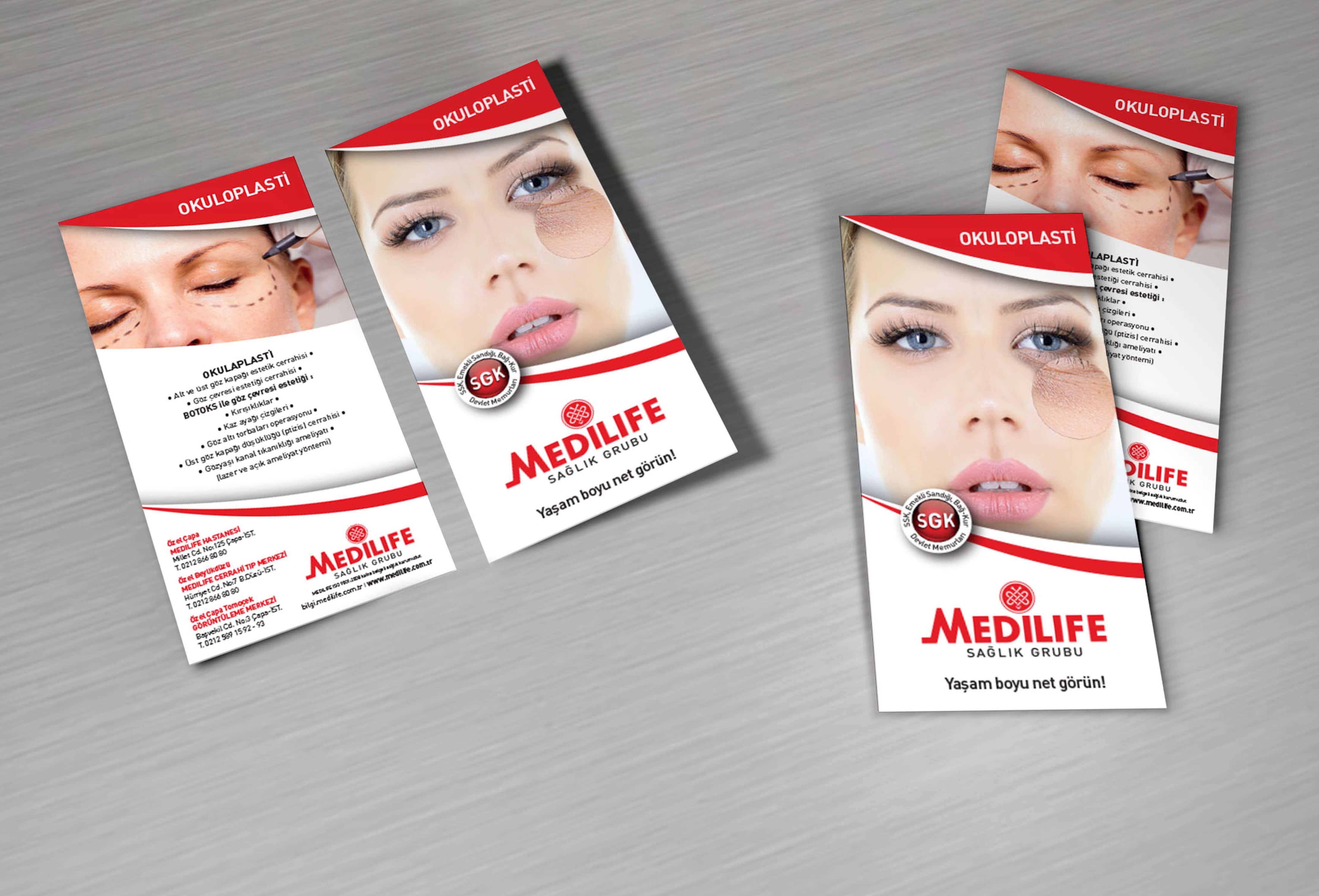 Broşür & Flyer Çalışmaları