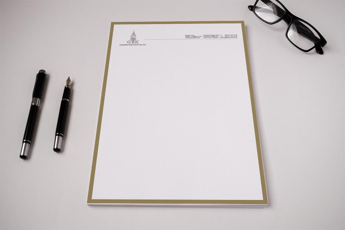 Kaliteli Antetli Kağıt
