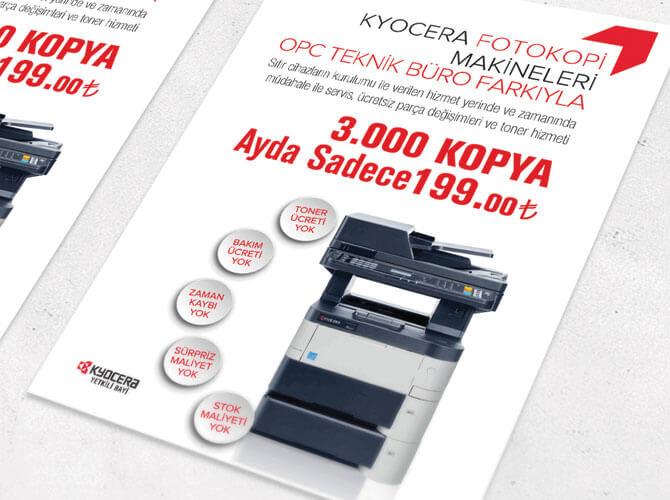A5 El broşürü, El ilanı, A5 broşür baskı