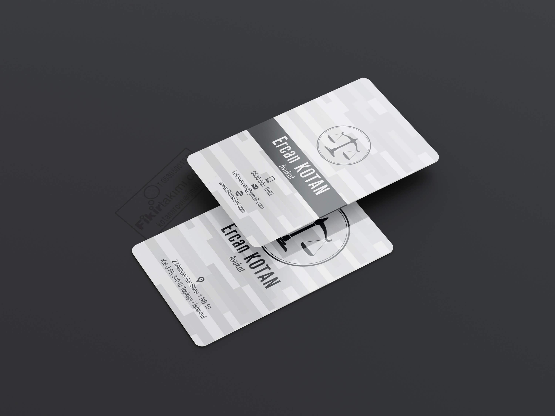 kabartmalı avukat kartvizit