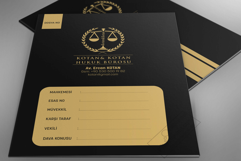 Siyah Zeminli Mahkeme Dosya